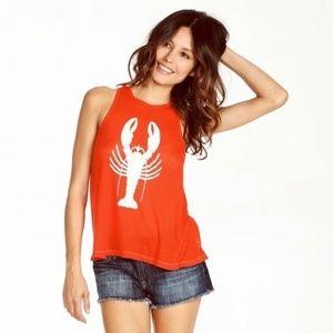 Wildfox Lobster Tank Top XS